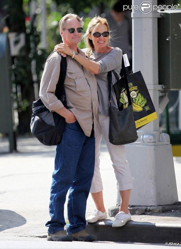 Jessica Lange et Sam Shepard, dans le quartier de West Village, à New York, le 2 septembre 2009 !