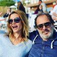 Ingrid Chauvin et Thierry Peythieu sur Instagram. Le 9 février 2020.