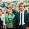 Hippolyte Girardot et Isabel Otero au Festival de Cannes en 1990.