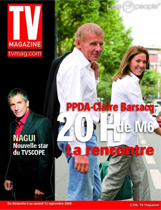 TV magazine du 6 septembre 2009 avec Patrick Poivre d'Arvor, Claire Barsacq et Nagui