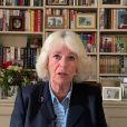 Camilla Parker-Bowles lors d'un appel visio pour remercier les soignants lors de la Journée internationale des infirmières, le 12 mai 2020.