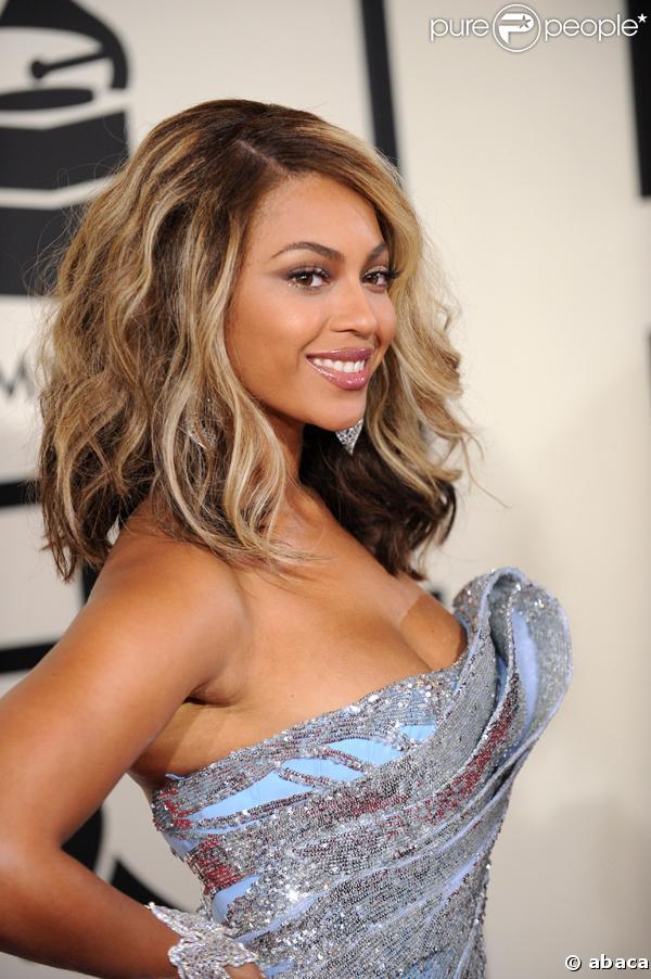 Beyoncé Knowles à la cérémonie des Grammy Awards