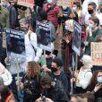 Manifestation contre les violences policières et le racisme à Londres. Le 6 juin 2020.