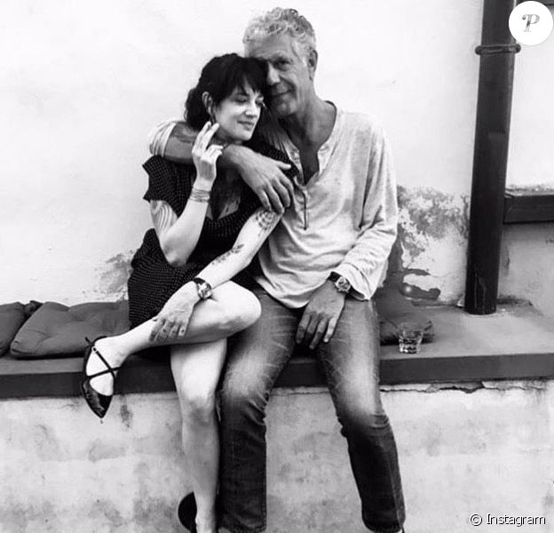Anthony Bourdain, Asia Argento 08/06/2018