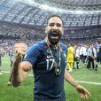 Adil Rami à l'issue de la finale de la Coupe du Monde de Football 2018 en Russie à Moscou, opposant la France à la Croatie (4-2). Le 15 juillet 2018 © Moreau-Perusseau / Bestimage