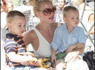 Britney Spears se la joue... pousse-pousse : une maman aux anges avec ses adorables bambins !