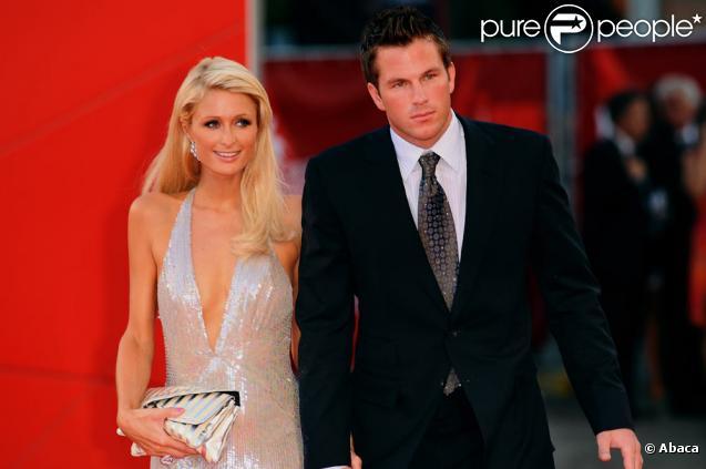 Paris Hilton et Doug Reinhardt à Venise, le 4 septembre 2009
