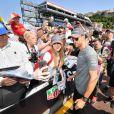 Essais du 75ème Grand Prix de Monaco 2017 Jenson Button Stand © Michael Alesi / Bestimage