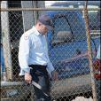 Ben Affleck en flic, sur le tournage de  The Town , à Boston, en septembre 2009 !
