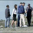 Ben Affleck et la craquante Rebecca Hall s'entendent comme deux larrons en foire sur le tournage de  The Town , à Boston, en septembre 2009 !
