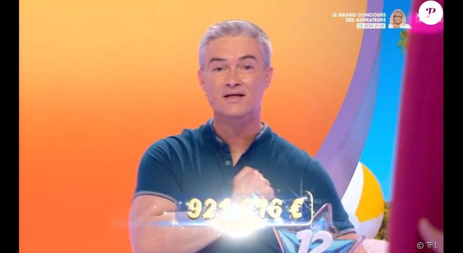 """Eric éliminé des """"12 Coups de midi"""", le 19 juin 2020, sur TF1"""