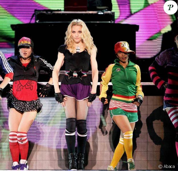 Madonna en concert à Göteborg (Suède) le 8 août 2009