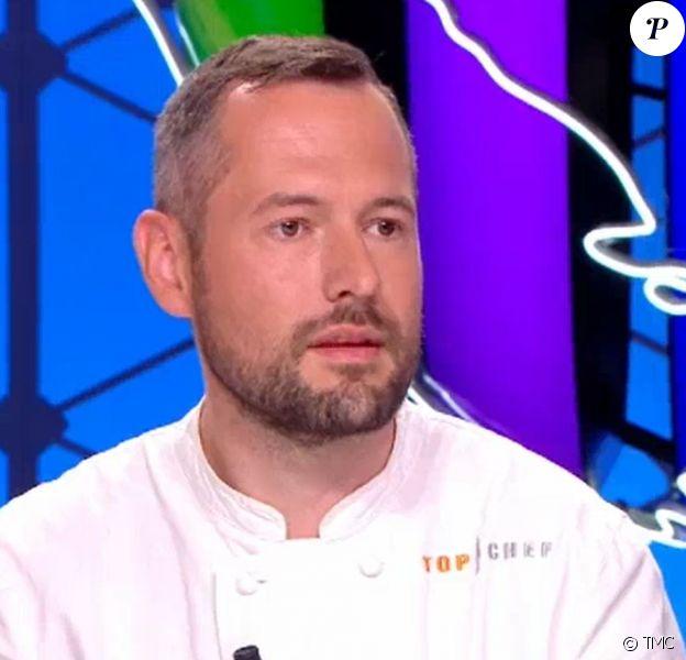 """David Gallienne de """"Top Chef 2020"""" dans """"Quotidien"""", le 18 juin, sur TMC"""