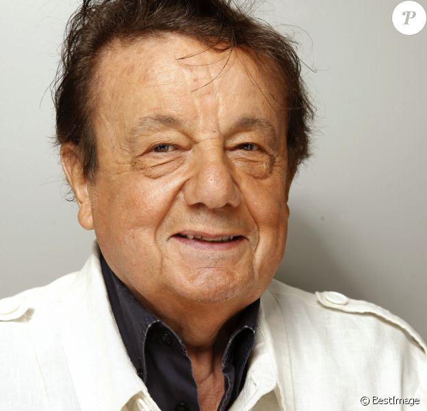 Portrait de Marcel Maréchal. Paris. Septembre 2012.