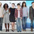 L'ensemble du jury de Prix de la révélation Cartier à Deauville dans le cadre du 35e Festival du film américain