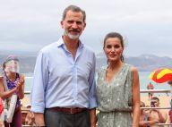 Letizia d'Espagne aux Canaries : sa nouvelle robe ne coûte que 20 euros