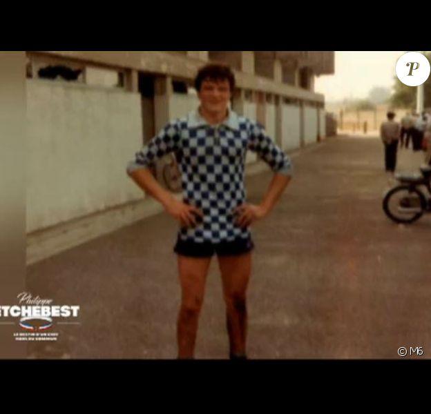 Images de Philippe Etchebest jeune et avec des cheuveux - documentaire sur Philippe Etchebest diffusé le 24 juin 2020, sur M6