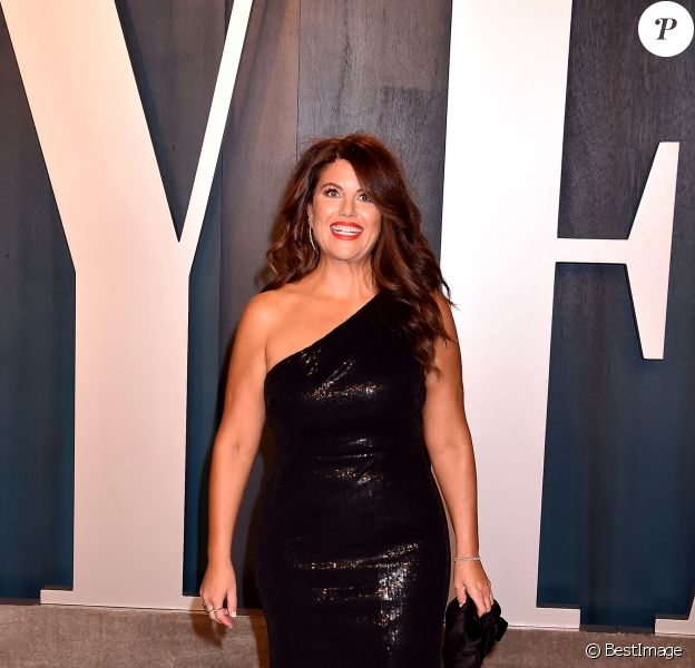 """Monica Lewinsky - People à la soirée """"Vanity Fair Oscar Party"""" après la 92ème cérémonie des Oscars 2020 au Wallis Annenberg Center for the Performing Arts à Los Angeles, le 9 février 2020."""