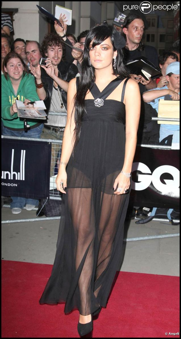 Soirée GQ Men of the Year Awards 2009 : Lily Allen