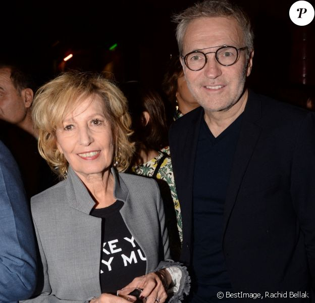 Exclusif - Catherine Barma et Laurent Ruquier (parrain) - Prix littéraire Grands Destins du Parisien Week-End au Buddha Bar à Paris, France, le 17 octobre 2018. Un événement organisé Five Eyes production. © Rachid Bellak/Bestimage