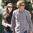 Julia Roberts et son mari Daniel Moder vont déjeuner au restaurant a Santa Monica, le 16 fevrier 2013.