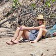 Julia Roberts et son mari Danny Moder en vacances à Hawaï en avril 2019