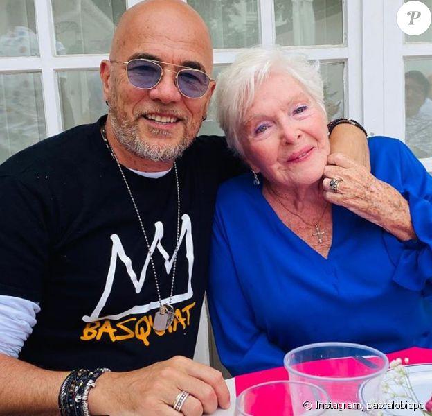 Line Renaud a fêté son anniversaire avec Pascal Obispo le 5 juillet 2020.