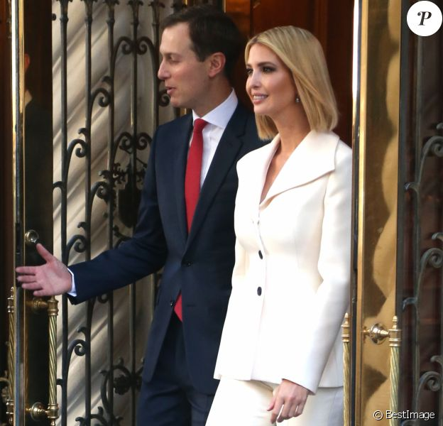 Jared Kushner et Ivanka Trump quittent leur appartement new-yorkais, le 24 septembre 2019.