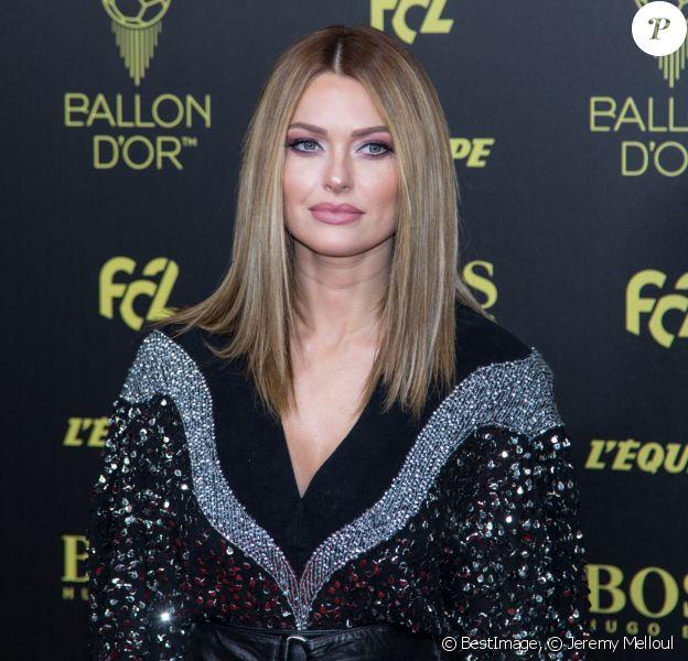 Caroline Receveur lors de la cérémonie du Ballon d'Or 2019 à Paris le 2 décembre 2019. © Jeremy Melloul/Bestimage