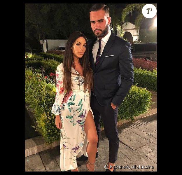 Nikola Lozina et Laura Lempika en couple. Photo dévoilée sur Instagram, le 6 octobre 2018.