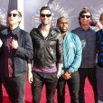 Maroon 5 en août 2014 aux MTV Video Music Awards à Los Angeles. © Celebrity Monitor/PCN/ABACAPRESS.COM