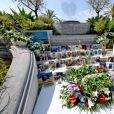 La Cérémonie d'Hommage Municipal aux victimes de l'attentat du 14 Juillet 2016 à Nice le 14 juillet 2020 dans les jardins du musée Masséna. © Bruno Bebert / Bestimage