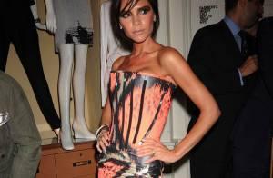 Victoria Beckham : Cuissardes et micro-robe... elle sort le grand jeu à la Fashion Week !
