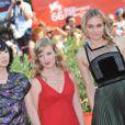 Les belles Linh-Dan Pham, Sarah Polley et Diane Kruger, sur le tapis rouge de l'avant-première de  Mr. Nobody , à l'occasion de la 66e Mostra de Venise, le 11 septembre 2009 !