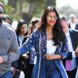 Aishwarya Rai se promène sur la croisette lors du 72ème Festival International du Film de Cannes, France, le 20 mai 2019.