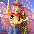 """Audrey Fleurot - Personnalités à la projection du film """"Toy Story 4"""" à Eurodisney Paris. Le 22 juin 2019. ©Veeren Ramsamy-Christophe Clovis / Bestimage"""