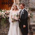 Mariage de la princesse Beatrice d'York avec Edoardo Mapelli Mozzi à la chapelle de tous les Saints, dans le parc du Royal Lodge à Windsor, en présence de la reine Elizabeth et du prince Philip, le 17 juillet 2020. Photo signée Benjamin Wheeler.