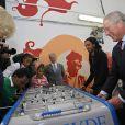Le prince Charles et Camilla Parker Bowles à la Kids Company