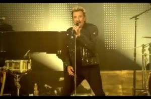 Johnny Hallyday : Son tube de 1976 a désormais un clip... version 2009 ! Regardez !