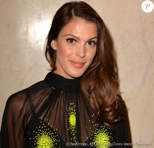 "Iris Mittenaere (Miss France et Miss Univers 2016) à l'After Show du défilé de mode Haute-Couture printemps-été 2020 ""Jean-Paul Gaultier"" au théâtre du Châtelet à Paris le 22 janvier 2020. © Christophe Clovis-Veeren Ramsamy / Bestimage"