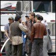 Leonardo DiCaprio en tournage d' Inception , de Christopher Nolan, à Los Angeles, le 12 septembre 2009 !