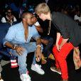 Kanye West, Jay-Z et Justin Bieber aux MTV Video Music Awards 2011.