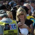 Anna Hansen et Lance Armstrong