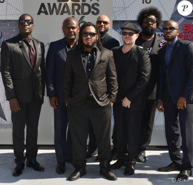 Le groupe The Roots aux BET Awards 2016. Los Angeles, le 26 juin 2016.