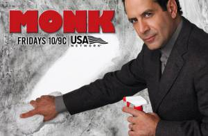 Monk : Pour la saison finale, Adrian Monk est de mariage et... SCOOP !, il accepte même de tenir la main de quelqu'un !