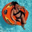Kelly Helard enceinte et en bikini, le 6 août 2020