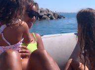 Amel Bent, le bonheur en famille : virée en mer avec ses filles