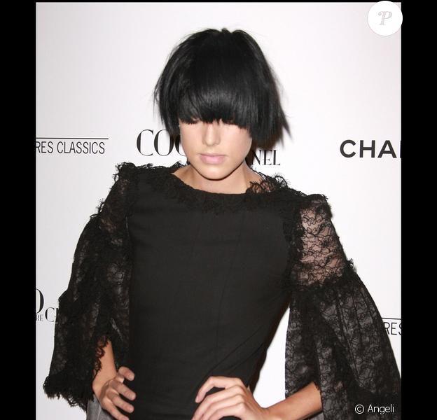 Agyness Deyn à la présentation de Coco avant Chanel à New York. 15/09/09