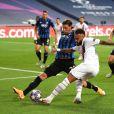 """Match de football """"Atalanta vs Paris Saint-Germain"""", 1/4 de finale de UEFA Ligue des Champions, à Lisbonne. Le 12 août 2020 © UEFA Pool / Panoramic / Bestimage"""