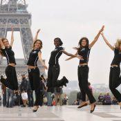 Les dix finalistes françaises du concours Elite Model Look... en visite glamour à Paris !